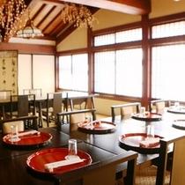 ■お食事処、テーブルと椅子席の対応も可能です。