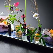 ■懐石料理(秋一例)前菜
