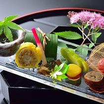■お料理(夏一例)前菜