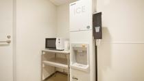 8階:電子レンジ・製氷機コーナー