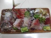 旬の魚盛合せ