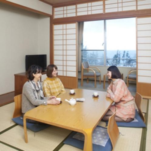和室は全て10畳間となります。