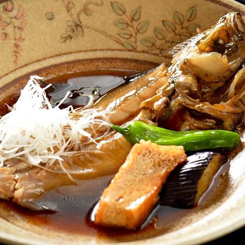 「地魚料理コース」 地魚の煮付け