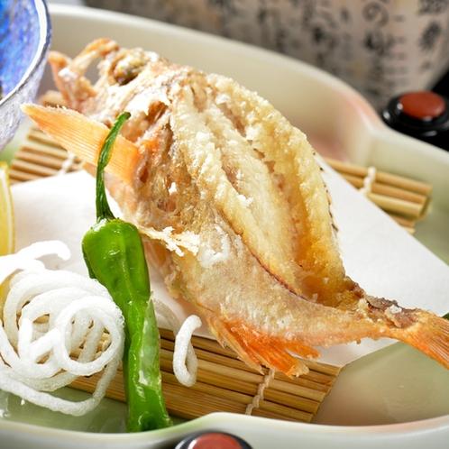 「地魚料理コース」 地魚からあげと豆腐のあげ出し