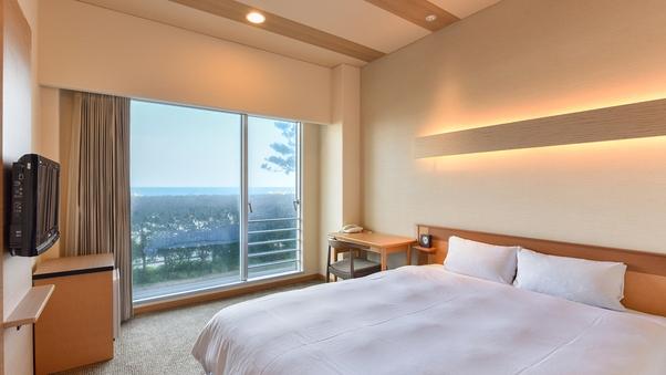 【西館1階】移動便利★セミダブル/ベッド幅152cm<禁煙>