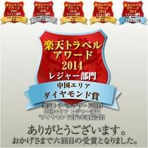 2014年楽天トラベルアワード2014