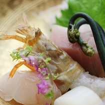 「幻の海老」とも言われる「もさえび」。2月〜5月頃の食材で旨味と食感は絶品♪