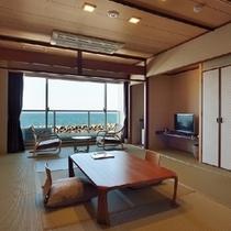 2013年改装♪海一望の東館和室(10畳タイプ)
