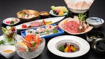 *【和牛会席(一例)】お肉をいろんな調理方法でご用意。