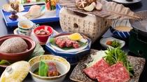 *【肉づくし会席】和牛やブランド豚、地鶏などのお肉をいろんな調理方法でご用意。