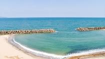 *【景観】海は目の前!夏は海水浴も楽しめます!