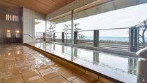 *【大浴場(女湯)】皆生温泉は海のミネラルを含み美肌効果やアトピーにも効くと言われています。