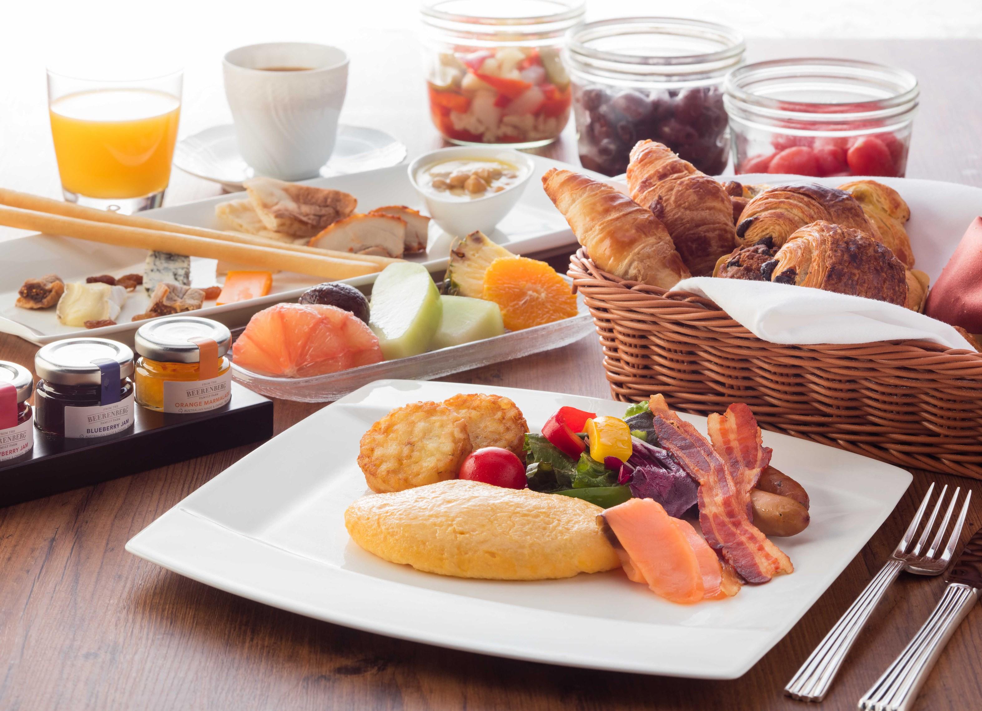 「カスケイドカフェ」のご朝食(お料理イメージ)