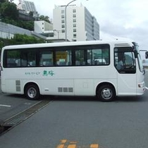 ホテル⇔熱海駅を運行いたしております。
