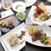 鉄板焼スペシャルコース(イメージ)※お食事内容は季節により異なります。