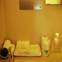 【本館】及び【強羅棟】洋室・和洋室バスルーム洗面台