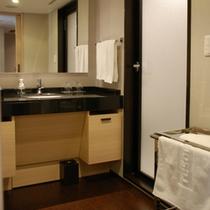 和モダンDXバスルーム洗面台