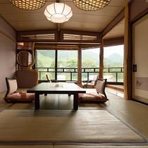 十二単館 一般客室の一例