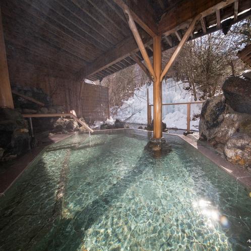 雪見露天風呂「美肌の湯」
