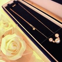 【パールアクセ】お好きなアコヤ真珠アクセサリーをプレゼント致します。