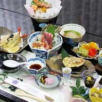 *スタンダード会席一例/料亭仕込みの味がお楽しみ頂けます。(メニューは季節により異なります)