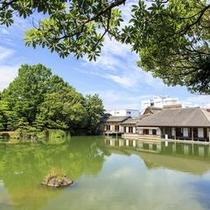 【養浩館】 ※優美な書院建築と雄大なスケールの庭園で一見の価値ありです♪♪