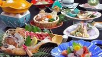 【のどぐろ+牛ステーキ&鮑&カニ会席】 ※どれもはずせない一品☆(イメージ)