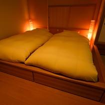 客室和風ベッド