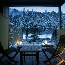 雪見 1F:庭園付き和洋室