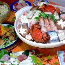 山海鍋(一例)