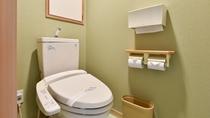 *和室12畳。トイレはウォシュレット完備