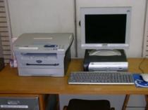 2階ラウンジ パソコン