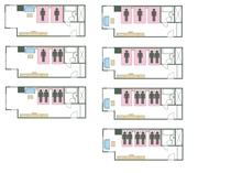タイプF ベッド数と宿泊可能人数