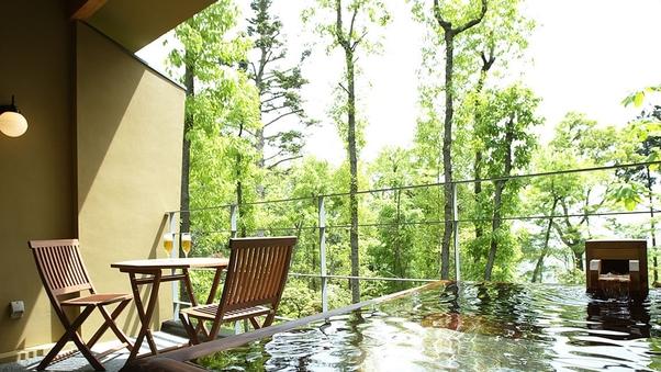 【禁煙】本館10畳+檜作り露天温泉テラス−mokuran−