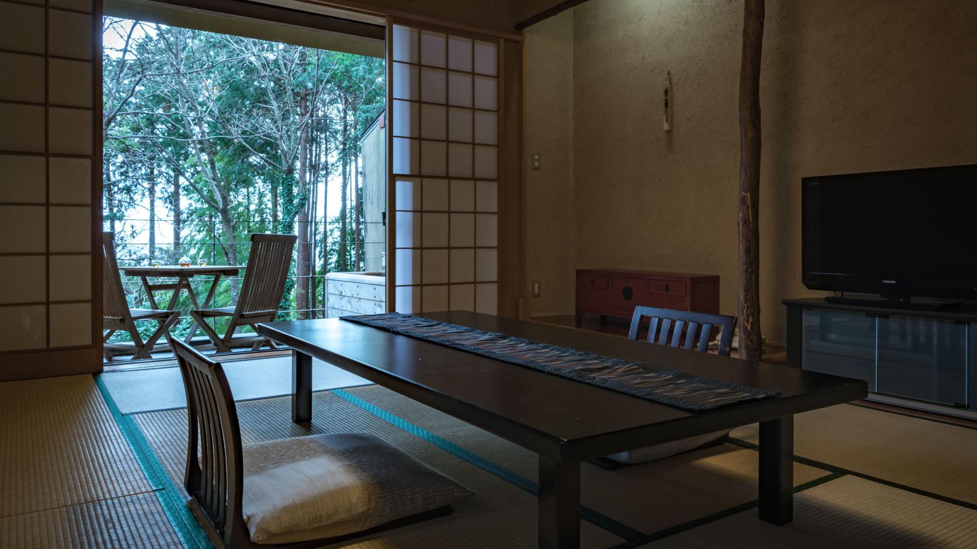 【本館/木蘭-mokuran-】2階10畳 趣と落ち着きのある客室