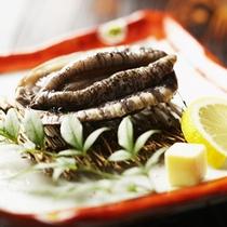 【夕食一例】*『あわび』の鮮度の高さと素材の味を味わって頂けます!