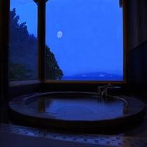 【別荘:閑-kan-】*お天気の良い日は、夜空に満天な月夜をお愉しみ頂けます。