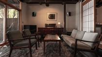 【別荘/悠‐yu‐】リビングルーム、和室、ベッドルーム、テラス、露天・展望風呂のあるお部屋です