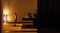 【別荘/和室ダイニング】お食事はこちらにご用意いたします