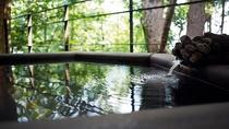 【本館/麹塵-kikujin-】緑を眺めながらの温泉は最高の癒しタイム