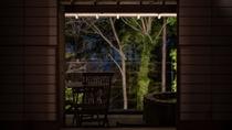 【本館/藍錆-aisabi-】夜の露天風呂も一味違った趣を楽しめます