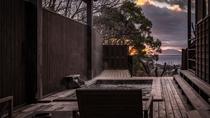 【別荘/閑‐kan‐】夕焼けを眺めながらの湯あみは極上のリラックスタイム