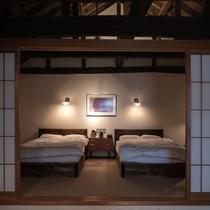 【別荘:閑-kan-】建物面積100平米と贅を極めた最上級の広がります。