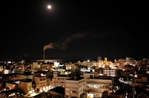 ホテル海側の夜景