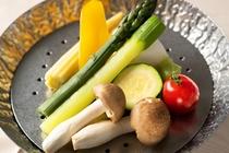 高原野菜の蒸し鍋