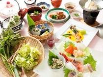春会席(山菜料理)イメージ