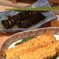 朝食③玉子焼き&昆布巻き