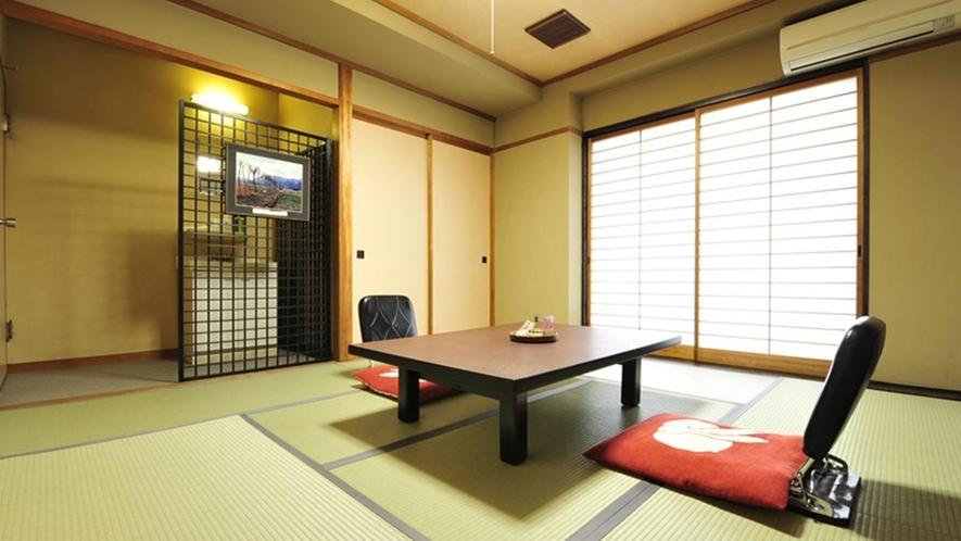 *純和風のお部屋でごゆっくりとお寛ぎ下さい