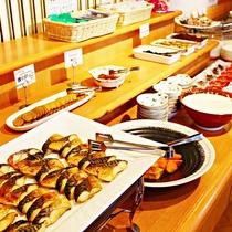 ■郷土食・地元食材も多数取り揃えています。