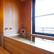 【猿沢池を望む】半露天風呂付客室